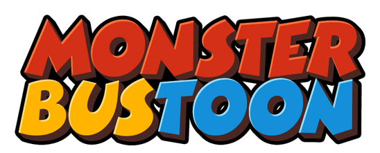 monster bustoon